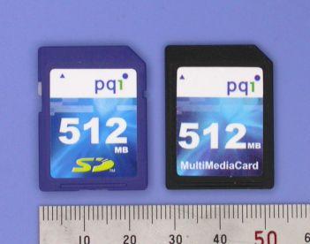 میکرو اس دی کارت و ام ام سی کارت micro sd card mmc card