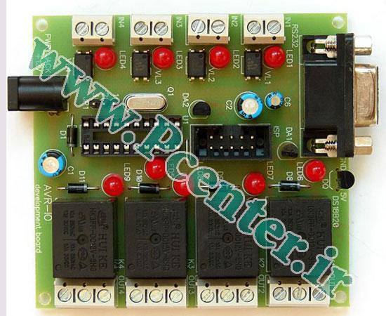 پروژه ارتباط میکروکنترلر AVR با پورت سریال کامپیوتر